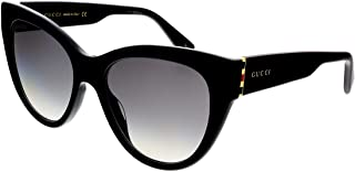 Gucci Women's Sunglasses Cateye GG0460S Black/Grey