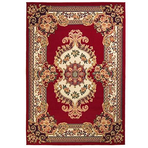 vidaXL Tappeto Orientale Stile Persiano 80x150cm Rosso/Beige Passatoia Stuoia