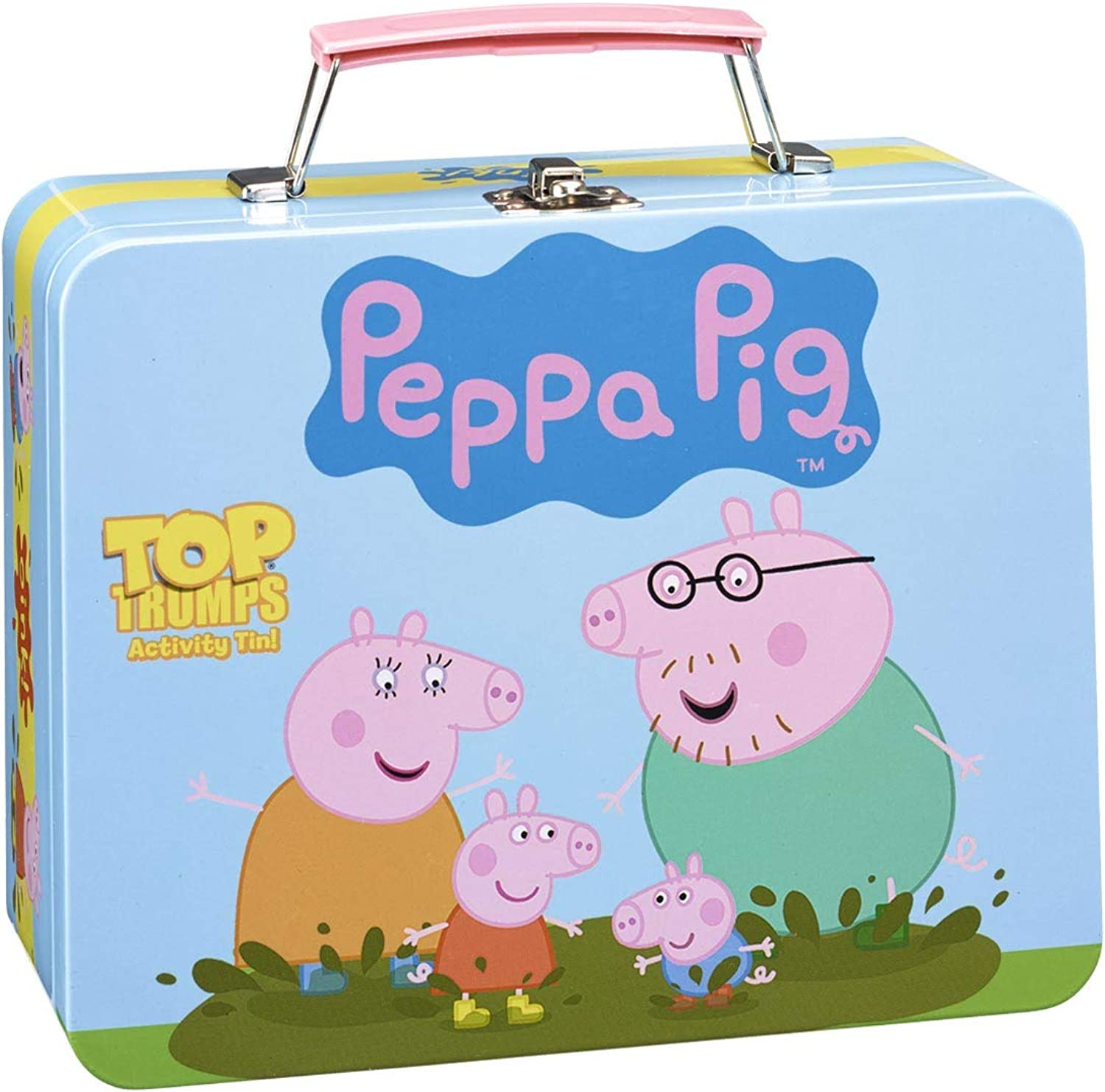Peppa Pig Collector's Tin Top Trumps Card Game   Educational Card Games