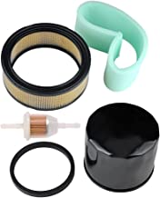 Buckbock 47 083 03-S1 Air & Pre Filter with 12 050 01-S Oil Filter for Kohler CH18 CH20 CH22 CH23 CH25 CV18 CV20 CV22 CV23 CV25 Engine John Deere AM125424 GY20577 Ariens 082000204 21397200 Lawn Mower