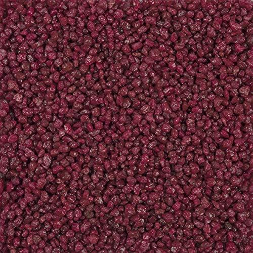 Dekogranulat Granulat Streudeko 1kg 2-3mm Bordeaux, Burgund, weinrot