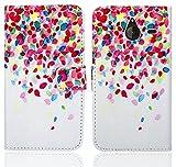 FoneExpert® Microsoft Lumia 640 XL Handy Tasche, Wallet Hülle Flip Cover Hüllen Etui Ledertasche Lederhülle Premium Schutzhülle für Microsoft Lumia 640 XL (Pattern 1)