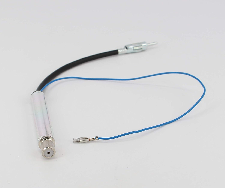 Xtenzi Car Radio Antenna Amplifier 1 year warranty Oklahoma City Mall XTDIN12 Compatible wi Adapter
