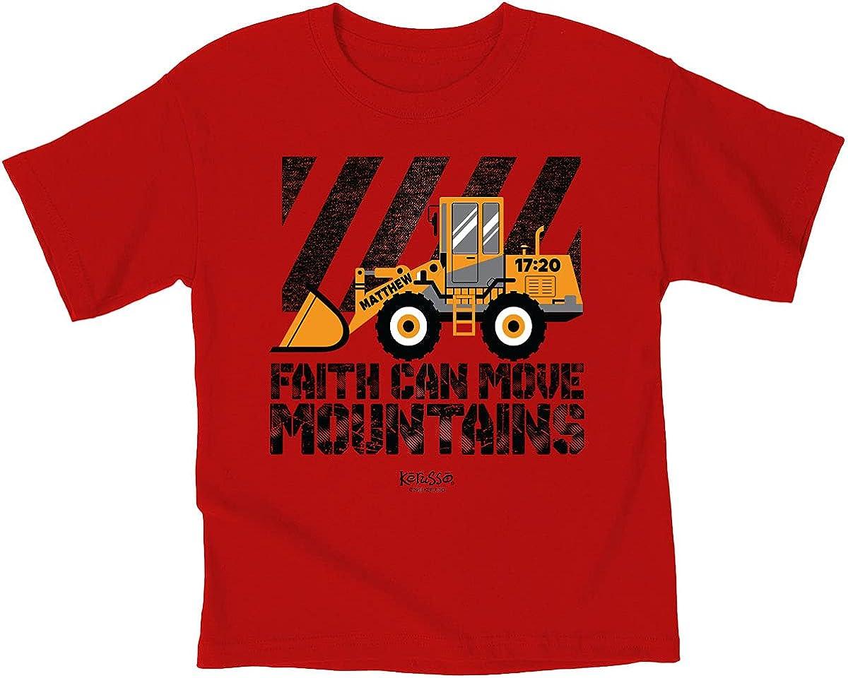 Kerusso Kids Front Loader T-Shirt -Gold-