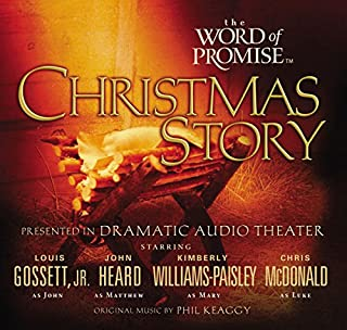 The Word of Promise Audio Bible - New King James Version, NKJV: The Christmas Story                   Written by:                                                                                                                                 New King James Version Bible                               Narrated by:                                                                                                                                 Louis Gossett Jr.,                                                                                        John Heard,                                                                                        Christopher McDonald,                   and others                 Length: 22 mins     Not rated yet     Overall 0.0