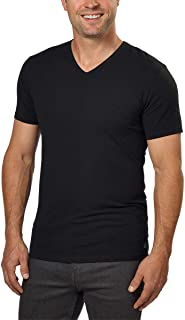Calvin Klein Cotton Stretch V-Neck, Classic Fit T-Shirt, Men's (3-pack) (White or Black)
