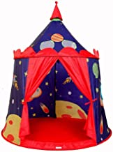 Home Equipment Children Play Tent Children's Indoor Play House Cosmic Castle Tent Foldable Cotton Canvas Photography Tipi ...