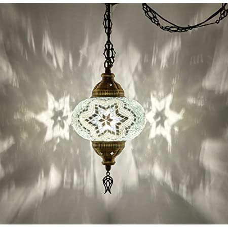 Turkish LAMP 34 Height Hanging Lamp Ceiling Night Lamp Chandelier Lighting Moroccan Light Fixture Hanging Lampshade FREE SHIP