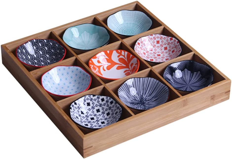 Cabilock Glazed 5 ☆ popular Ceramic Side Dishes Ranking TOP1 Dish Sauce Dipping Soy