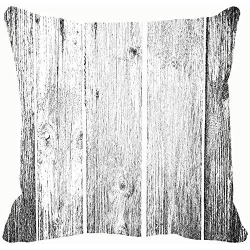 La imagen abstracta de textura monocromática incluye fundas de cojines y fundas de cojiness Fundas de almohada Sofá Decoración para el hogar 45X45Cm