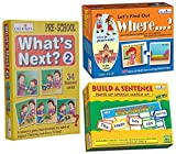 Product 1: Building Sentences Product 1: Identifying Parts of Speech; Nouns, Verbs, Adjectives & Adverbs Product 1: Develop Language Skills Product 2: Visual Discrimination Product 2: Early Learning Concepts Product 2: Improve ability to Ask and Answ...