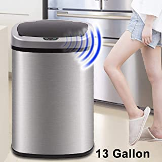 Kitchen Trash Can for Bathroom Bedroom Home Office...