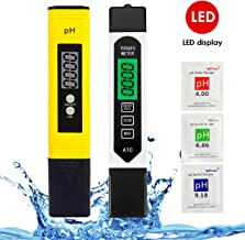 PH Meter and TDS Meter Combo,pH Tester Digital Water Meter & TDS Tester,High Accuracy Pen Type pH Meter, Readout Accuracy ...