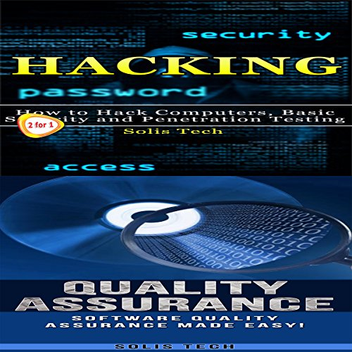 Hacking & Quality Assurance audiobook cover art