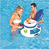 Boissons gonflables Cooler Lounge Eau de Piscine Chill Beverage Floating Mega Ice Beer Drink Cooler Summer Pool Float