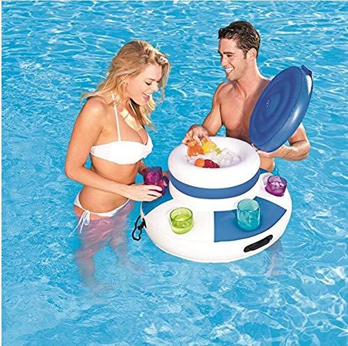 Opblaasbare drankjes Cooler Lounge Water Pool Chill Beverage Drijvende Mega Ijs Bier Drink Koeler Zomer Zwembad Float