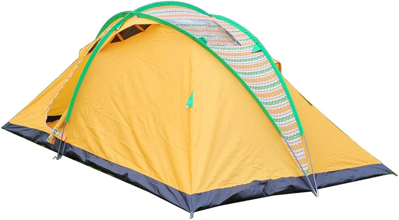 LJJYN 420  240  160 cm Zelt 6-8 Menschen EIN Schlafzimmer Nationaler Stil Spitze Retro Mode Zelt Winddicht Camping Grill draussen Ausrüstung