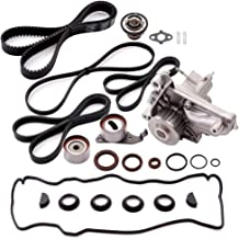 OCPTY Timing Belt Kit Including Timing Belt Water Pump with Gasket tensioner Bearing etc, Compatible for 1992 1993 1994 1995 1996 1997 1998 1999 2000 2001 Toyota Camry