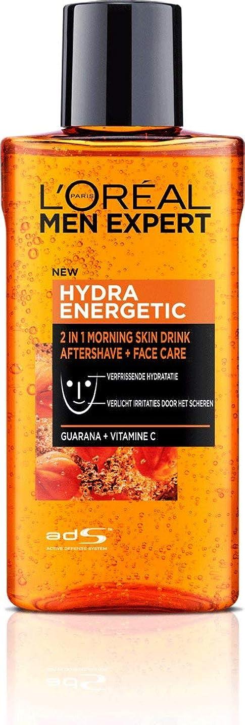 エンドウのみ夕方ロレアル Men Expert Hydra Energetic 2-In-1 Aftershave + Facecare 125ml/4.2oz並行輸入品