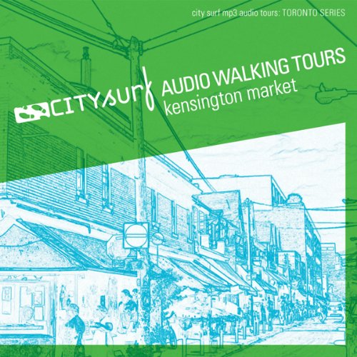 City Surf     Toronto: Kensington Market Audio Walk              By:                                                                                                                                 CIty Surf                               Narrated by:                                                                                                                                 City Surf                      Length: 31 mins     2 ratings     Overall 3.0