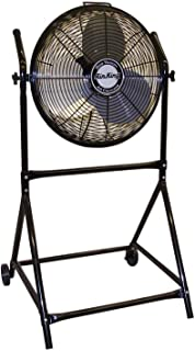Air King 9219 18-Inch Industrial Grade High Velocity Roll-About Stand with Fan