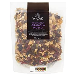 Morrisons The Best Fruit and Nut Granola Muesli, 500g