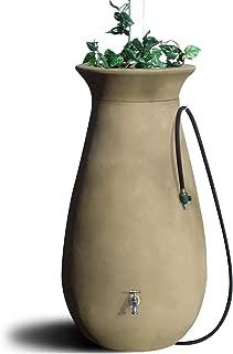 Algreen Products Cascata Rain Barrel 65-Gallon, Sandalwood,81211