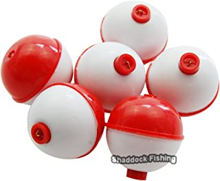 Easy Catch ® Snap on Float Bobbers Hard ABS Push Button Fishing Round Buoy Float Bobber