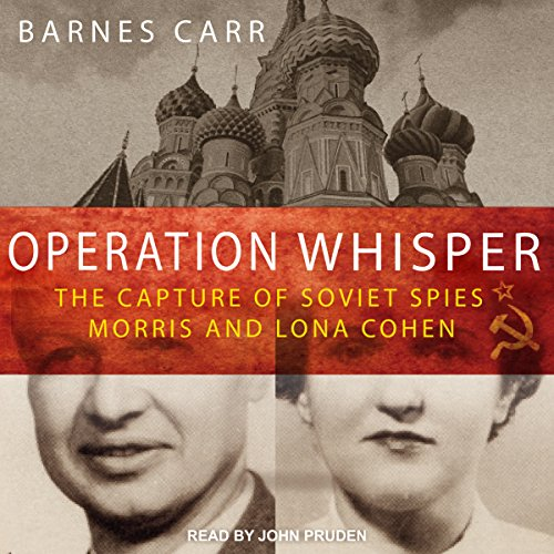 Operation Whisper audiobook cover art
