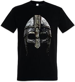 Urban Backwoods Viking Helmet Camiseta De Hombre T-Shirt