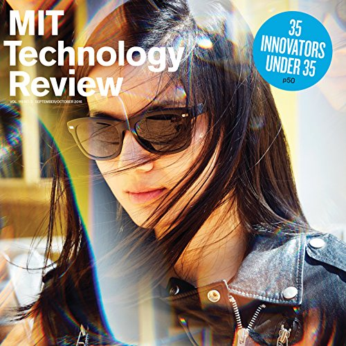 MIT Technology Review, September 2016 audiobook cover art