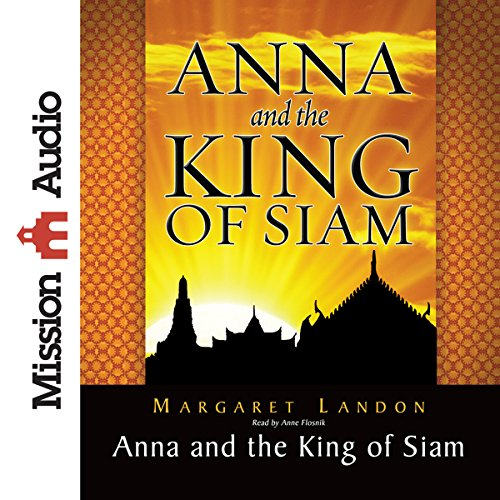 Anna and the King of Siam audiobook cover art