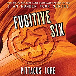Fugitive Six     Lorien Legacies Reborn              Written by:                                                                                                                                 Pittacus Lore                               Narrated by:                                                                                                                                 P. J. Ochlan                      Length: 12 hrs and 28 mins     15 ratings     Overall 4.8