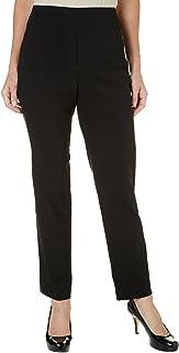 Alfred Dunner Women's Petite Updated Short Lenth Slim Leg Pant
