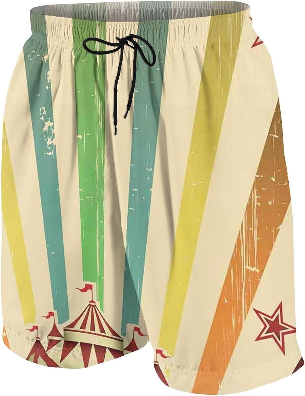 TENJONE Clearance SALE! Limited time! Teen Beach Pants Slim Trunks Branded goods Fit Half Swim f