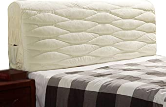 Bed Headboard Cover StretchPolyester Fiber Elasticity Wood Leather Bed Head Decorative Solid Color Protector for Bed Headb...