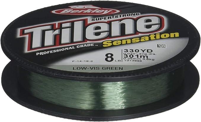 Details about  /Berkley Trilene Sensation Fishing Line 14 LB Test 330 YDs Blaze Orange Color