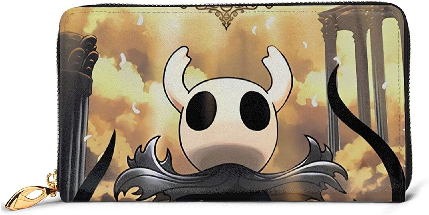 Hollow Knight Cheap Max 40% OFF mail order sales Leather Wallet Cosplay Men For Card Credit Holder