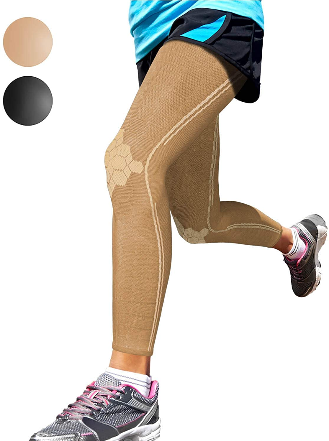 Sparthos Leg Compression Sleeves - Aid Support Direct Some reservation store A and in Recovery