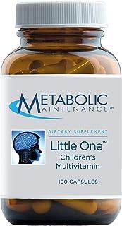 Metabolic Maintenance Little One - Children's Multivitamin with Iron, Kids 6-12 yrs - Active B Vitamins, Minerals + Vitami...