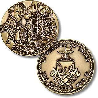 USS Decatur DDG-73 Challenge Coin