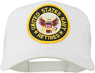 US Navy Retired Circle Patched Mesh Cap