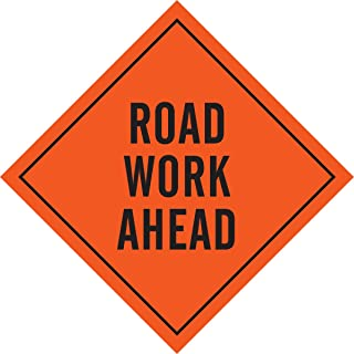 road work sign