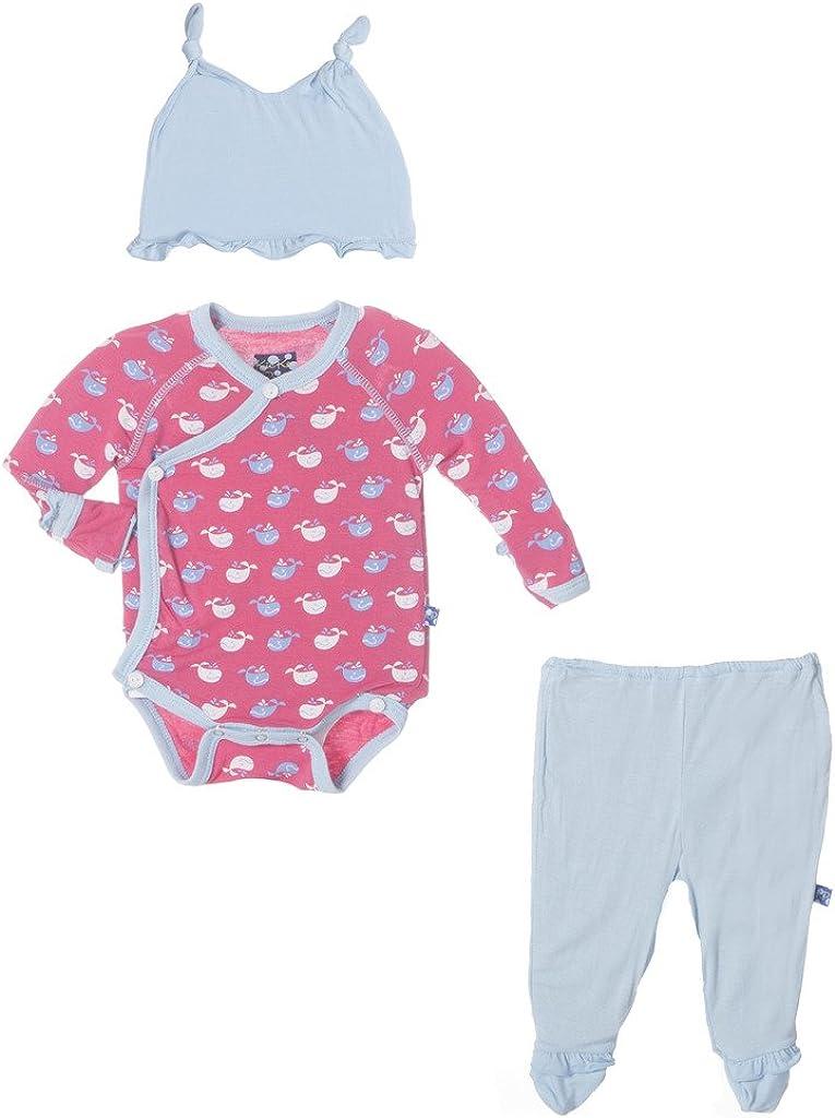 KicKee Special Campaign Pants Kimono Newborn Gift Free Shipping Cheap Bargain Gift with Elephant Box Set