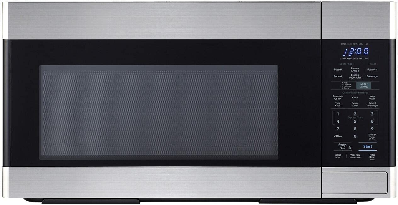 Sharp Over The Range Microwave Oven 2021 spring and summer new 300 Cubic Excellent With 1000W 1.6 ft