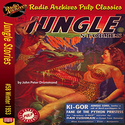 Jungle Stories #58 audiobook cover art