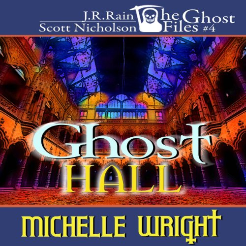 Ghost Hall audiobook cover art