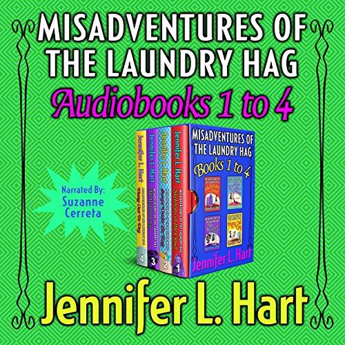 Misadventures of the Laundry Hag Box Set: Books 1-4 cover art