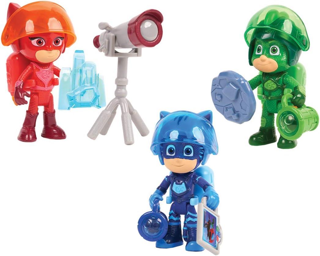 PJ Masks-95166 Set Figuras Gatuno, Multicolor (Bandai 95166)