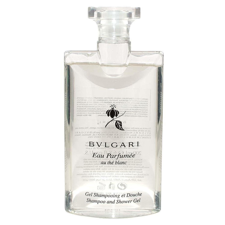 繰り返す理解キネマティクスBvlgari Eau Parfumee Au The Blanc (ブルガリ オー パフュ-メ オウ ブラン) 2.5 oz (75ml) シャンプー